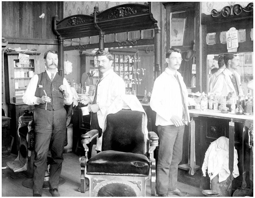 Barber And Shave Shoppe : higher resolution version of this picture is HERE
